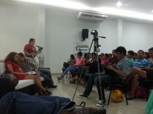 Panel sobre Innovación social y emprendedorismo en la Cámara de Comercio de Girardot