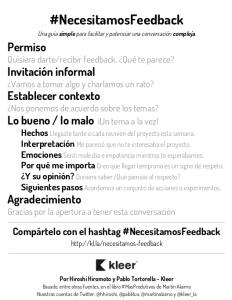 Guía #NecesitamosFeedback, por @hhiroshi y @pablitux